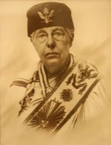 Annie Besant in Masonic Regalia