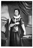 Elizabeth Aldworth in Masonic regalia, from a mezzotint of 1811